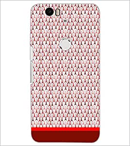 PrintDhaba Tower Pattern D-1760 Back Case Cover for HUAWEI NEXUS 6P (Multi-Coloured)