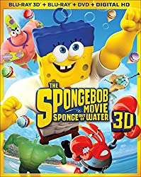 The Spongebob Movie: Sponge Out of Water (Blu-ray 3D + Blu-ray + DVD + Digital Copy)