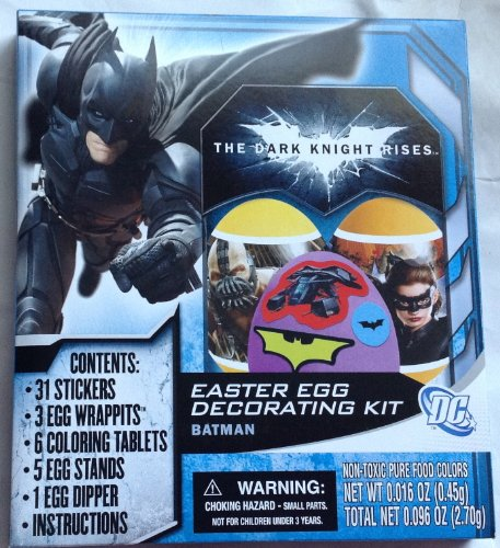 Batman - The Dark Knight Rises Easter Egg Decorating Kit - 1