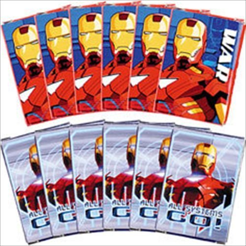 Iron Man Mini Card Game Pack / Favors (12ct) - 1
