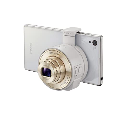 Amazon.co.jp: Sony DSC-QX10/W Smartphone Attachable Lens-Style Camera 4.45-44.5mm Interchangeable Lens for Other Cameras (IMPORT): 家電・カメラ