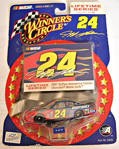 Winner's Circle, Lifetime Series, No. 5 of 6, Jeff Gordin #24 Chevy Monte Carlo 2001