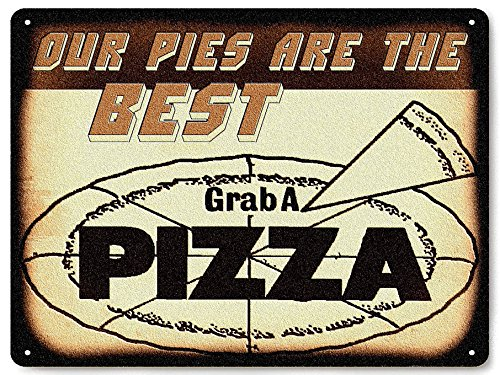 New York Pizza Parlor shop METAL sign / vintage restaurant deli diner wall decor 070 (Pizza Pasta Sign compare prices)