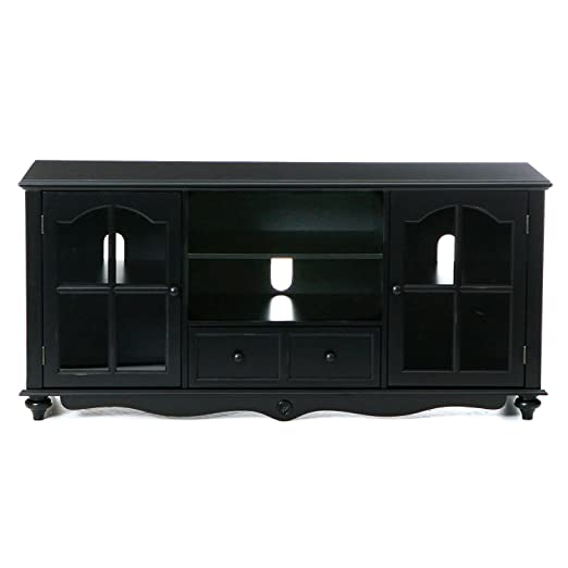 """Antique Black Cambridge 52"""" TV Cabinet"""