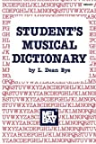 img - for Student's Musical Dictionary book / textbook / text book