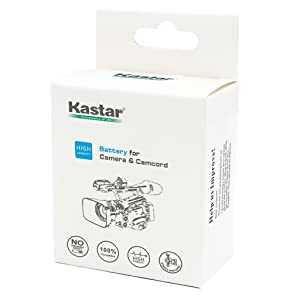 Kastar Fast Charger + 6 Battery for Sony NP-F970 NP-F960 F970 F960 F975 F950 and DCR-VX2100 HDR-AX2000 FX1 FX7 FX1000 HVR-HD1000U V1U Z1P Z1U Z5U Z7U HXR-MC2000U FS100U FS700U and LED Video Light (Tamaño: 1 fast charger + 6 batteries)