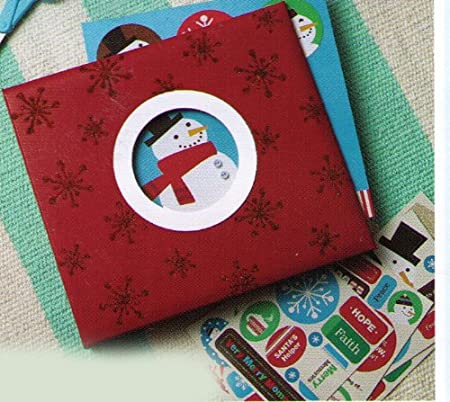 Hallmark Christmas XKT7003 Holiday Instant Scrapbook Kit