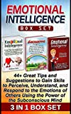 img - for Emotional Intelligence Box Set: 44+ Great Tips and Suggestions to Gain Skils to Perceive, Understand, and Respond to the Emotions of Others Using the Power ... Intelligence Box Set, Emotional self help) book / textbook / text book
