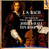 J.S. Bach: Die Sonaten Für Viola Da Gamba Und Cembalo