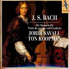 J.S. Bach: Die Sonaten F�r Viola Da Gamba Und Cembalo