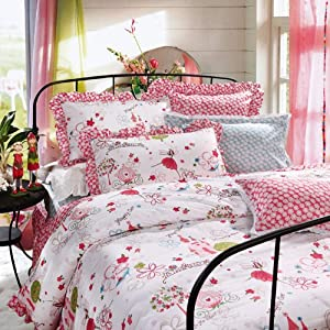 Amazon.com - DIAIDI Home Textile, Magic Girl, Pink Floral Bedding ...