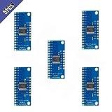 Ximimark 5Pcs 16CH Analog Digital Multiplexer Breakout Board Module CD74HC4067 CMOS Precise Module For Arduino (Tamaño: 5 Piece)