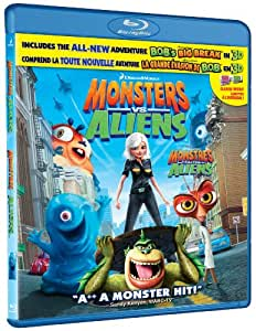 Monsters Vs. Aliens [Blu-ray] (Bilingual)