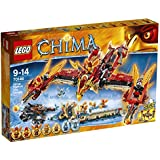 Lego Legends Of Chima-playthèmes - 70146 - Jeu De Construction - Le Temple Du Phoenix De Feu