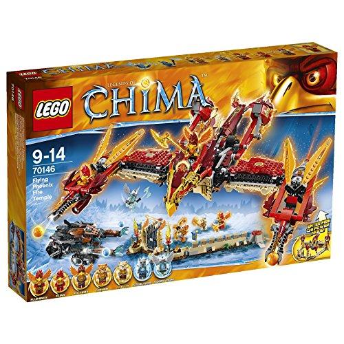 LEGO Chima 70146 - Tempio Di Fuoco Della Fenice Volante