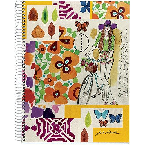 jordi-labanda-for-miquelrius-hardcover-notebook-watercolor-summer-days-85-x-11-4-subject-college-rul