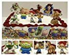 Toy Story Cake Topper Set Featuring Woody, Buzz Light Year, Bullseye, Jessie, Toy Story Alien and Toy Story Cake Decorative Pieces