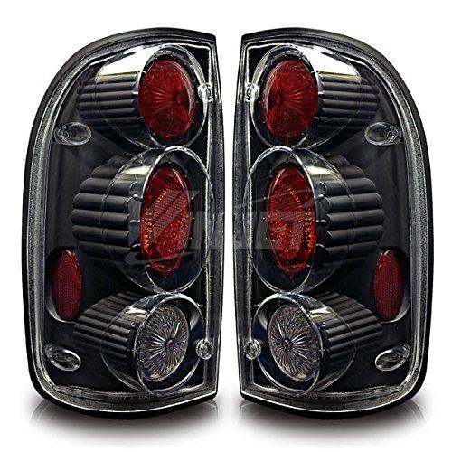 Starr Lite 01-04 Toyota Tacoma Altezza Tail Lights - (Black / Clear)