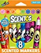 Tobar Scentos Funny Face Markers (Pack of 8)