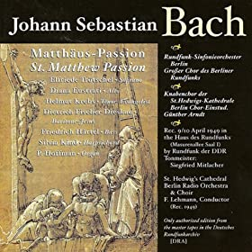 St. Matthew Passion, BWV 244: Part II: Recitative: Er hat uns Allen wohlgetan (Soprano)