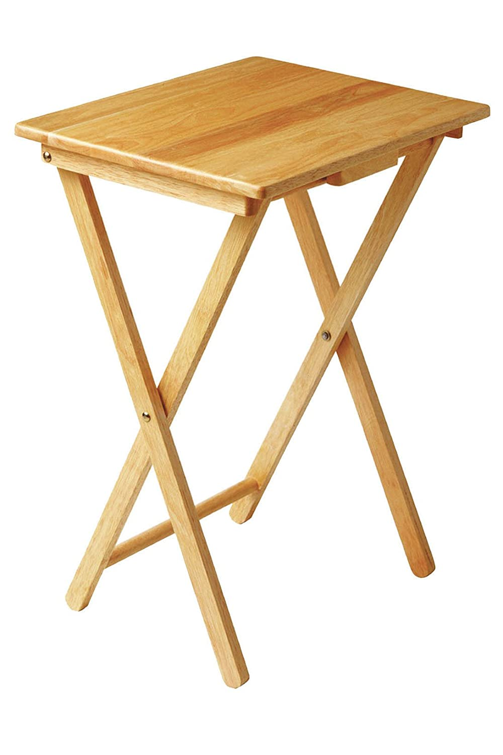 Petite table pliante for Table de television en bois