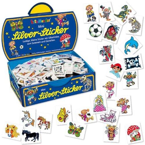 Lutz Mauder 76996 Mini-Silver-Sticker-Set 2, - 1 Sticker