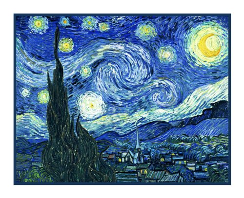 Starry Starry Night Inspired By Impressionist Vincent Van