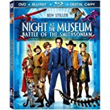 Night at the Museum: Battle of the Smithsonian (Three-Disc Blu-ray/DVD/Digital Copy) ~ Ben Stiller