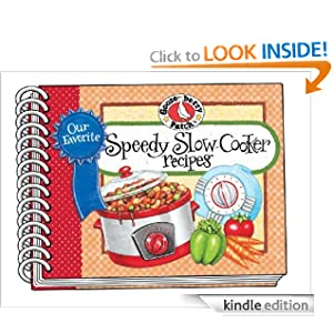 Kindle Book Bargains: Our Favorite Speedy Slow-Cooker Recipes: Super-fast, easy and delicious slow-cooker recipes, most with 5 ingredients or less, by Gooseberry Patch. Publisher: Gooseberry Patch; Spi edition (August 20, 2012)