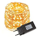LE 10M 100 LEDs Kupferdraht LED