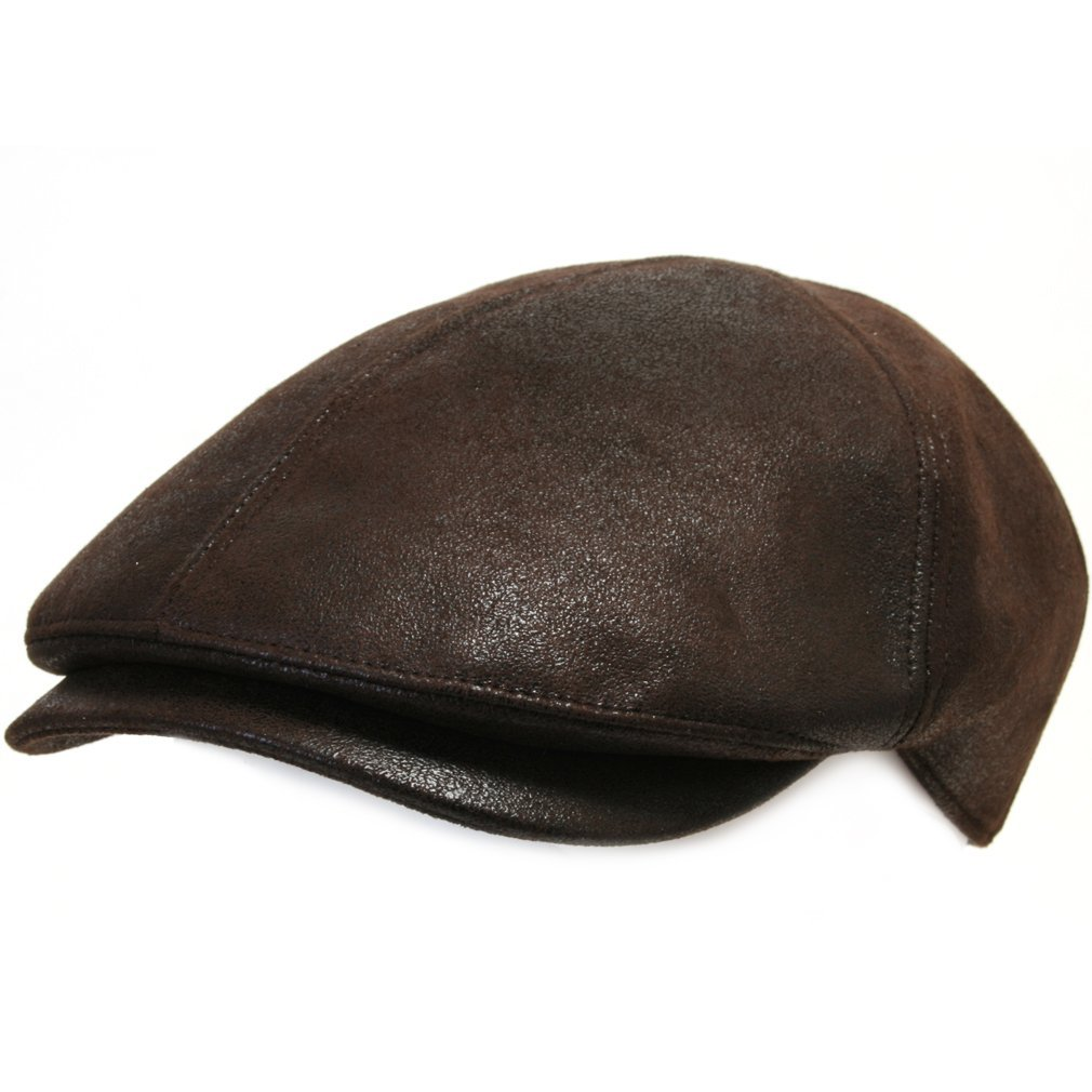 ililily Flat Cap Vintage Cabbie Hat Gatsby Ivy Cap Irish Hunting Newsboy Stretch 0