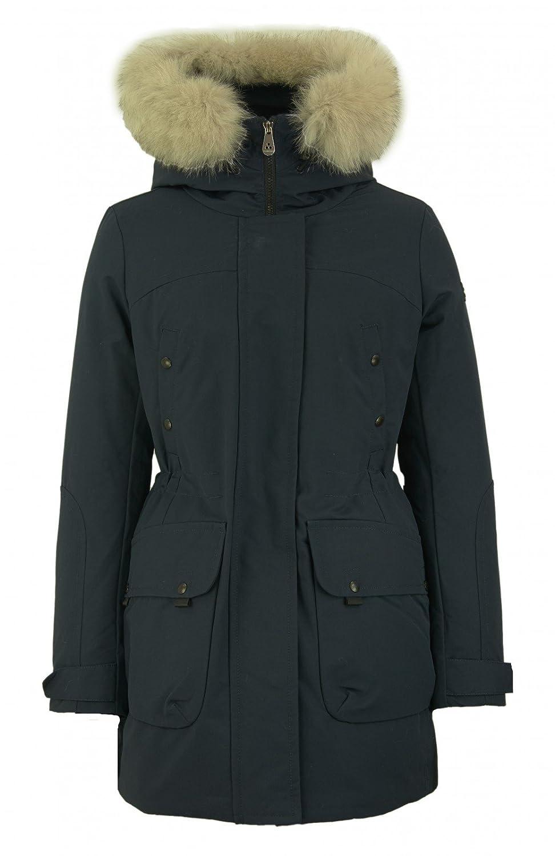 Peuterey Damen Porter Arctic Daunenjacke mit Fuchsfell Besatz in Dunkelblau jetzt kaufen