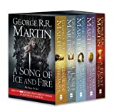 George R. R. Martin A Song of Ice and Fire - A Game of Thrones: The Story Continues: A Complete Box Set of Books 1-4: A Song of Ice and Fire: A Game of Thrones / A Clash ... of Swords: Blood and Gold / A Feast for Crows