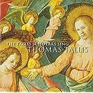 Thomas Tallis : The Tallis Scholars sing Thomas Tallis (500e anniversaire)
