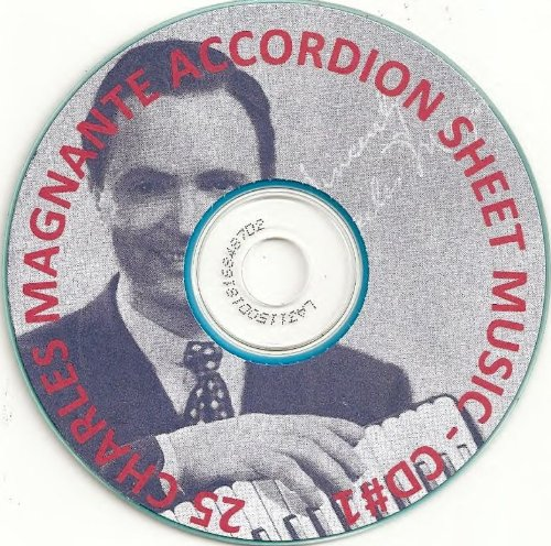 Cheapest Prices! 25 Charles Magnante Accordion / Accordian Sheet Music -1