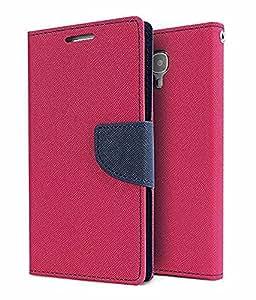 MAX JIO MERCURY Wallet Flip case Cover FOR Lenovo Vibe P1M (PINK)