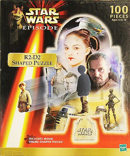 Star Wars Episode I R2-D2 Shaped Puzzle