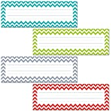 Creative Teaching Press Chevron Solids Name Plates (4517)