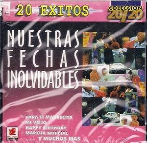 VARIOS - Nuestras Fechas Inolvidables - Amazon.com Music