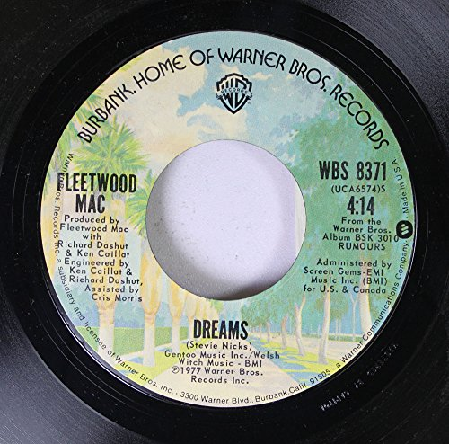 Fleetwood Mac 45 RPM Dreams / Songbird (Fleetwood Mac 45 Rpm compare prices)