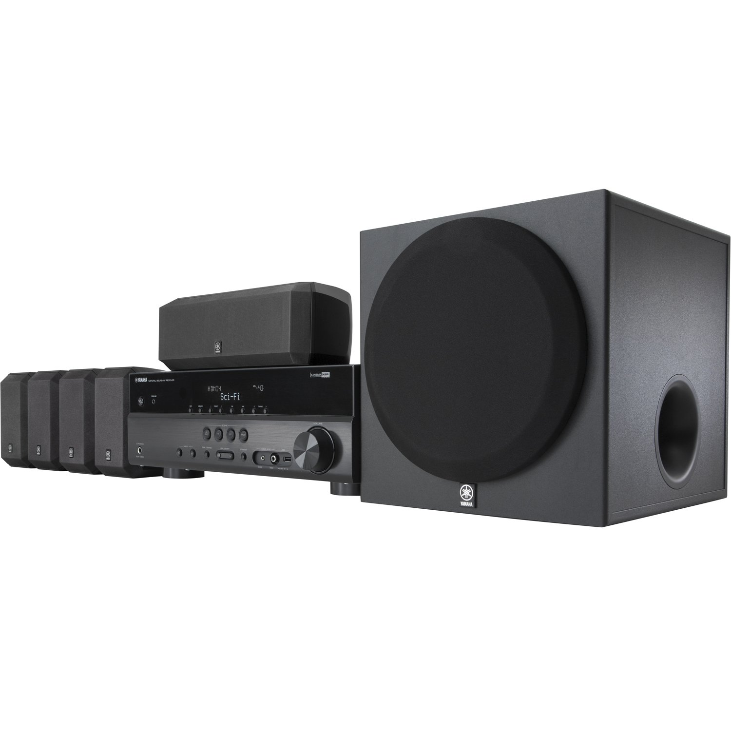 Yamaha YHT-397 5.1-Channel Home Theater System $248.88