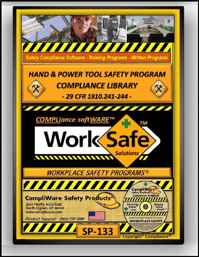 SP-133 - TOOL SAFETY MANAGEMENT COMPLIANCE LIBRARY - OSHA - 29 CFR 1910.241-244 - UPC - 639737375206
