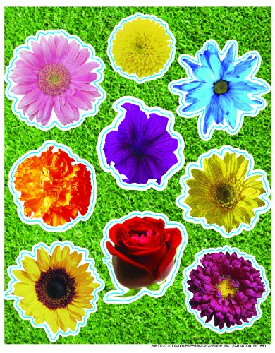 Eureka Photo Flower Die Cut Stickers