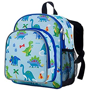 Wildkin Olive Kids Dinosaur Land Pack 'N Snack Bag