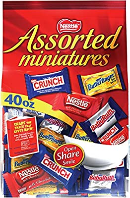 Nestle Assorted Miniatures Bag, 40 oz.