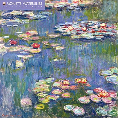 Monet's Waterlilies Wall Calendar 2016 (Art Calendar) (Square)