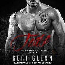 Tease: Kings of Korruption MC Series, Book 2 Audiobook by Geri Glenn Narrated by Joe Arden, Maxine Mitchell