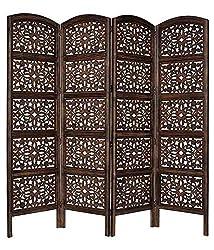 Shilpi:Wooden Partition / Room Divider/Screen in Net Design