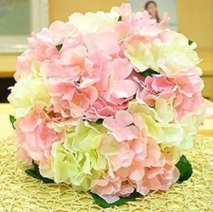 Hydrangea Bridal Wedding Bouquet Artificial Flower Bouquets