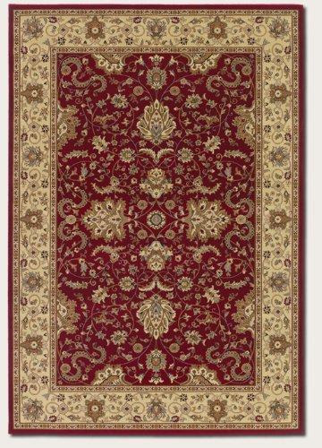 Couristan - Izmir Collection - Floral Bijar - Red 7'10